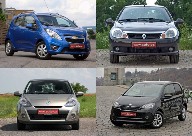 10 nejlevnějších aut na českém trhu