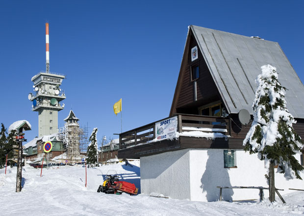 Autem na hory: Česko - Klínovec