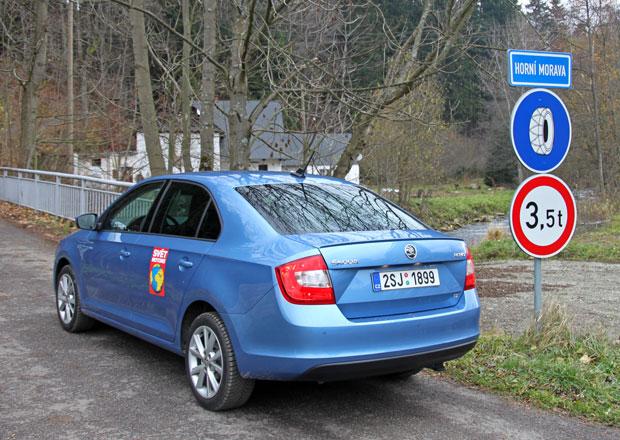 Autem na hory: Česko - Dolní Morava