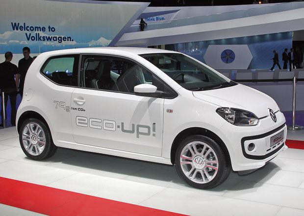 Volkswagen Eco-Up! míří na český trh, stojí 259.900 Kč
