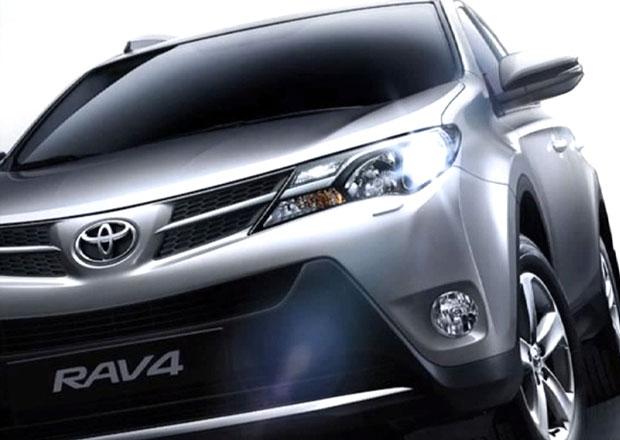 Toyota RAV4 na prvních neoficiálních fotkách