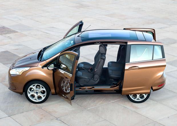 Ford sníží produkci B-Maxu na polovinu, není o něj zájem