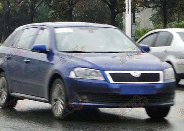 Čínský Rapid kombi je ve skutečnosti VW Santana