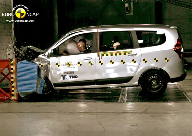 Euro NCAP 2012: Dacia Lodgy – Prostorné MPV má jen tři hvězdy