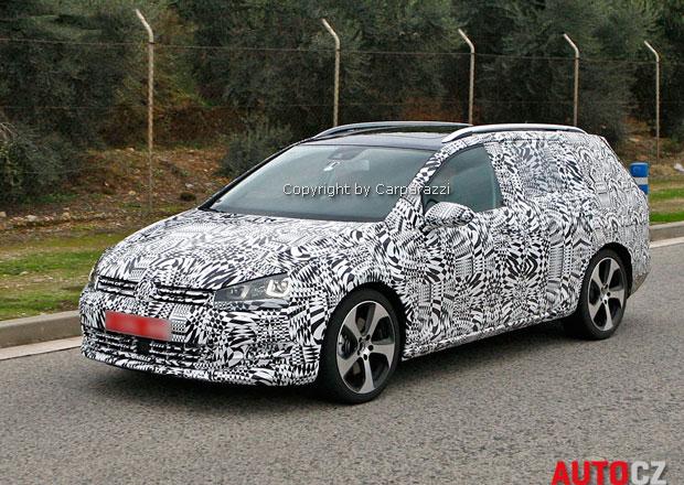 Spy Photos: Volkswagen Golf VII Variant