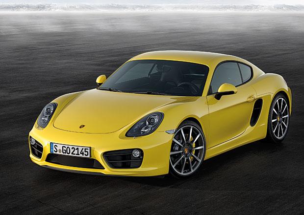 Porsche Cayman 2013: Technická data, nové fotografie