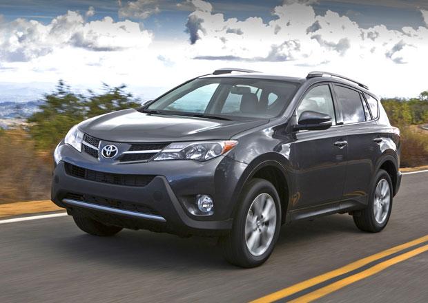 Toyota RAV4 čtvrté generace se představila v USA, k nám dorazí na jaře