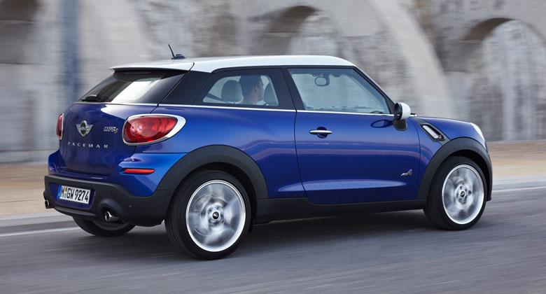 Třídveřové SUV Mini Paceman zná své české ceny