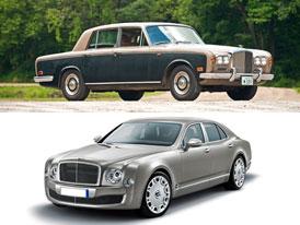 Designový duel: Bentley T vs. Mulsanne – Napříč generacemi