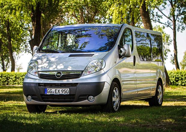 Opel Vivaro Life na českém trhu