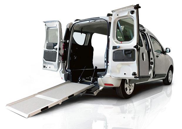 Renault Grand Kangoo a Dacia Dokker pro tělesně postižené