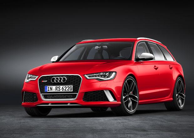 Nové Audi RS 6 Avant: 560 koní z V8 4,0 TFSI