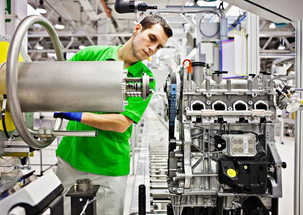 Škoda zahájila výrobu nových motorů TSI pro Octavii III