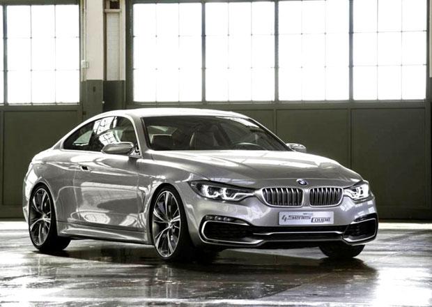 BMW Concept 4 Series Coupe: Prototyp trojkového kupé pro Detroit