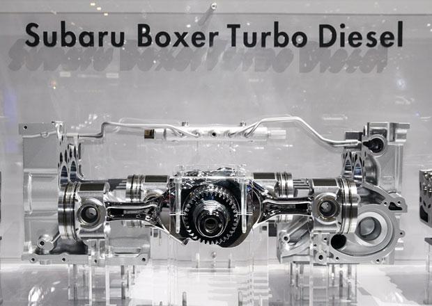 Subaru m� probl�my se �ivotnost� dieselov�ho boxeru