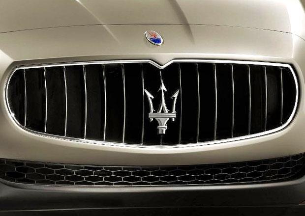 Maserati p�ipravuje dal�� nov� model, velk� luxusn� kup�