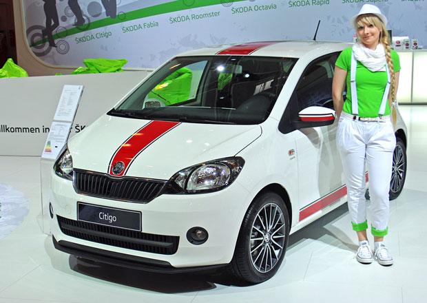 Škoda Auto na Essen Motor Show 2012: Závodní Citigo i zkrášlený Rapid