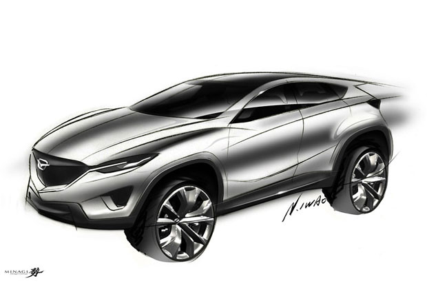 Mazda CX-3: Chystá se další konkurent Nissanu Juke?