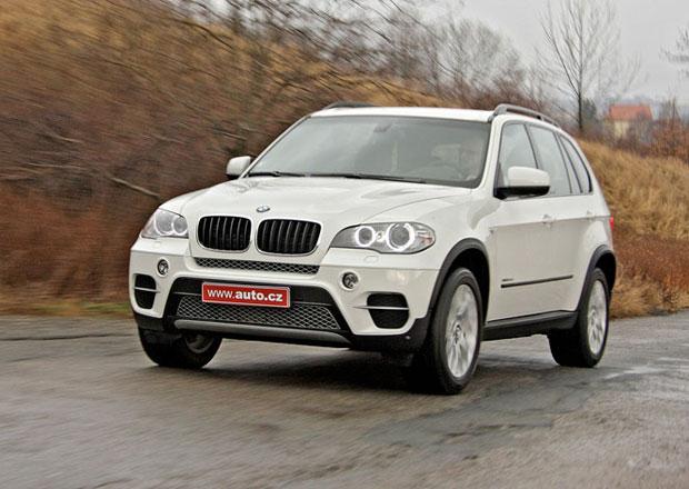 BMW kvůli možným problémům s řízením zkontroluje 250.000 vozů X5