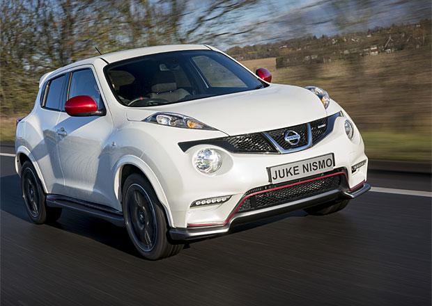 Nissan Juke Nismo dorazí na trh s 1,6 DIG-T (200 k)
