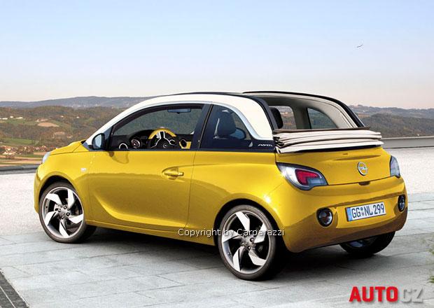 Opel Adam přijde o střechu