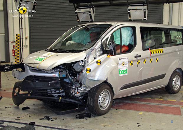 Euro NCAP 2012: Ford Transit Custom – Pět hvězd pro dodávku roku