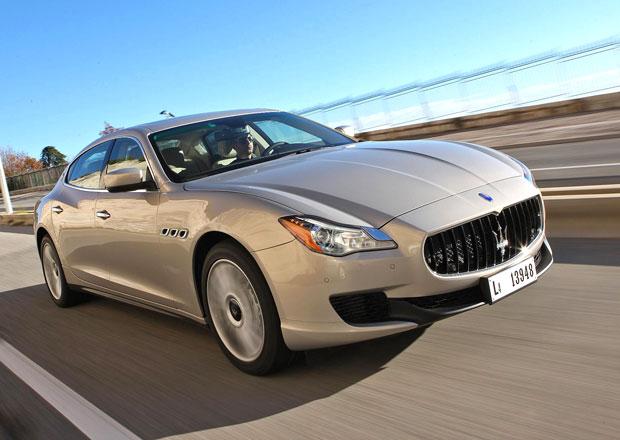 Maserati Quattroporte: Nové informace, fotky a video