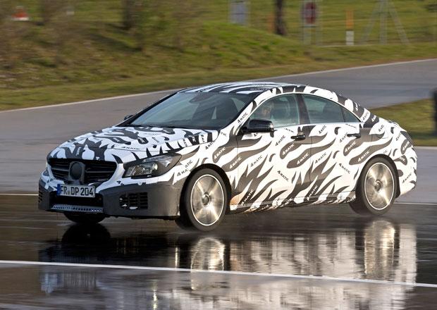 Mercedes představil systém 4Matic pro předokolky tříd A a CLA