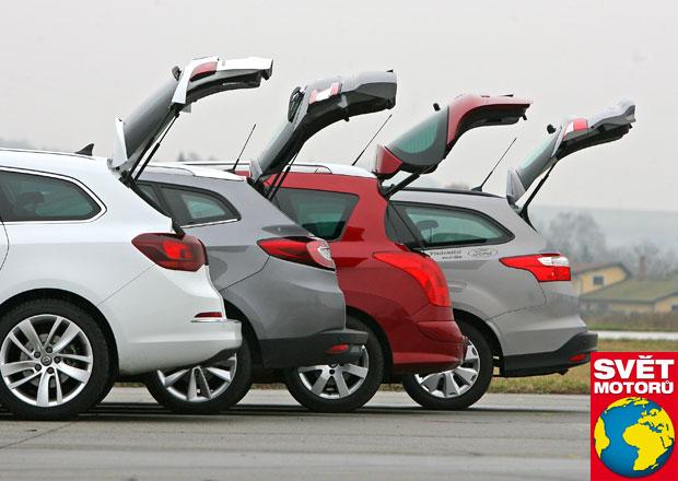 Srovnávací test Světa motorů: Focus kombi, Astra Sports Tourer, 308 SW, Mégane Grandtour