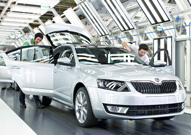 Škoda zahájila sériovou výrobu nové Octavie