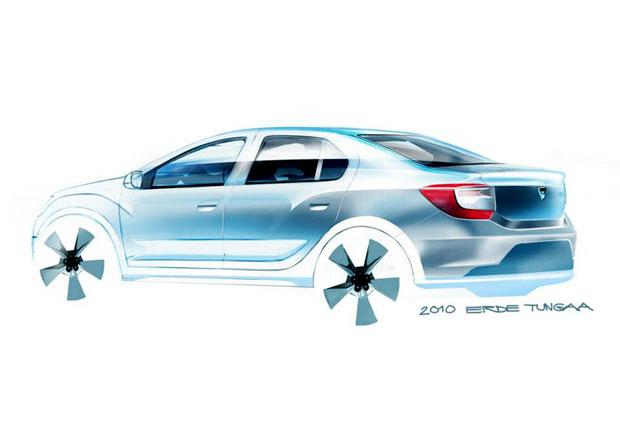 Dacia zve�ejnila skici, jak vznikala druh� generace Loganu a Sandera