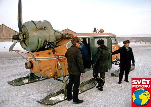 8 zajímavých sněžných vozidel, která na silnici jen tak nepotkáte