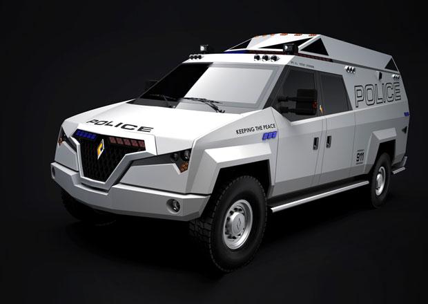 Carbon Motors TX7: Nový speciál pro policii a záchranáře