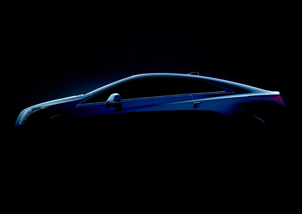 Elektrické kupé Cadillac ELR se začíná odhalovat