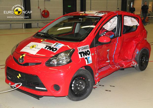 Euro NCAP 2012: Toyota Aygo, Citroën C1, Peugeot 107 – Jen tři hvězdy