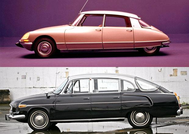 Designový duel: Citroën DS vs. Tatra 603