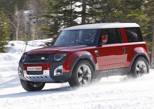 Nov� Land Rover Defender m� b�t modern�j��, ale st�le schopn� v ter�nu