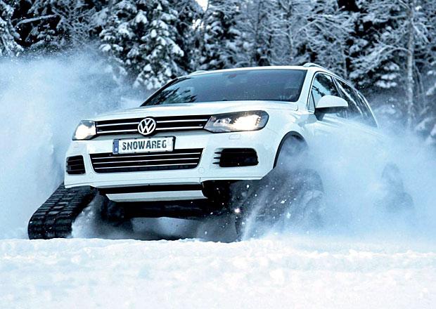 Volkswagen Snowareg je Touareg do sněhovych podmínek