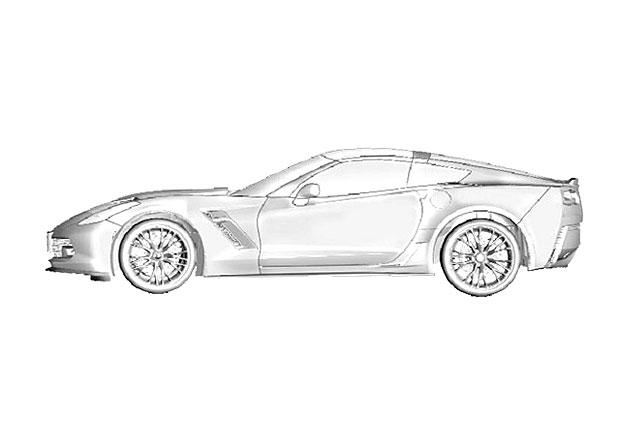 Další poodhalení Corvette C7