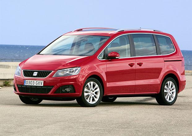 SEAT Alhambra dostane dvě nové verze 2,0 TDI
