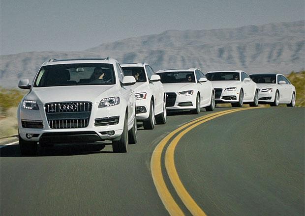 Vozy Audi se v budoucnu budou od sebe více odlišovat
