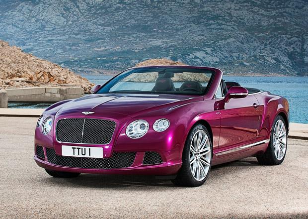 Bentley Continental GT Speed Convertible: Nejrychlejší kabriolet na světě