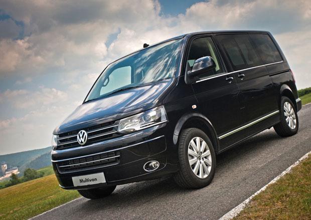 Test: Volkswagen Multivan Business 2.0 BiTDI 4Motion - Nášup