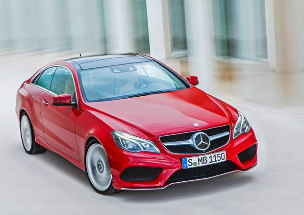 Mercedes-Benz E: Facelift i pro kupé a kabriolet (doplněno video)
