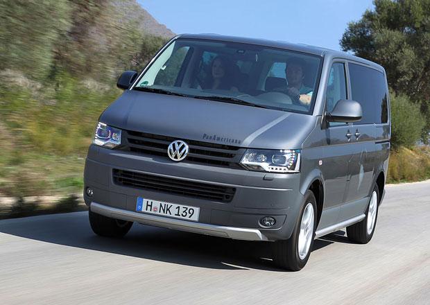 Volkswagen Užitkové vozy na českém trhu v roce 2012
