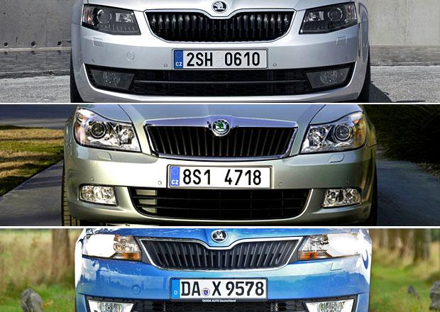 Škoda Octavia III, Octavia II a Rapid: Kdo je z nich nejlevnější?