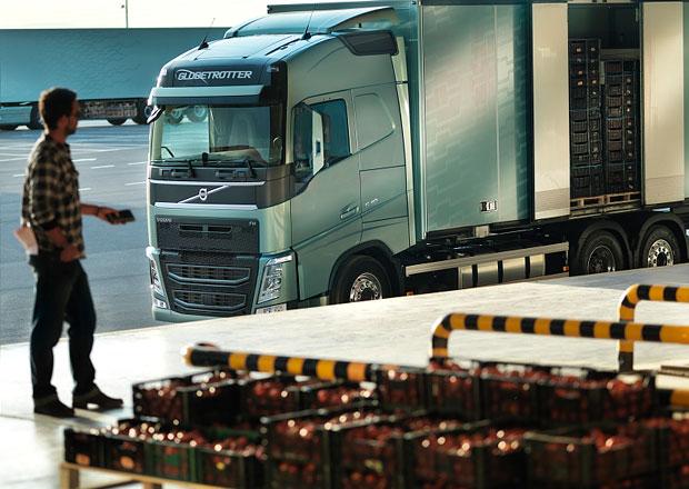 Volvo Trucks: D�lkov� ovl�d�n� pro jednodu��� nakl�dku