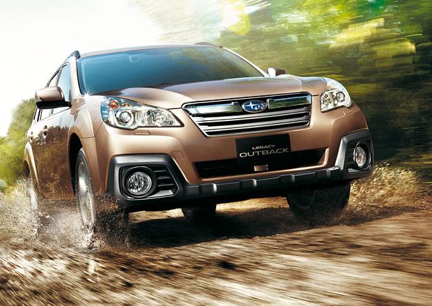 Subaru Legacy a Outback 2013: Facelift a nový motor 2,5i (127 kW)