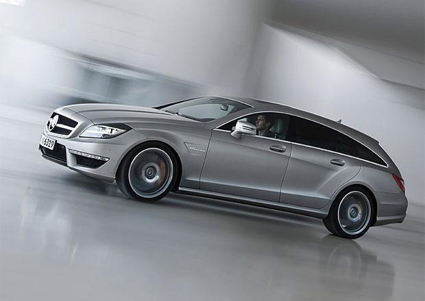 Mercedes-Benz CLS 63 AMG Shooting Brake oficiálně