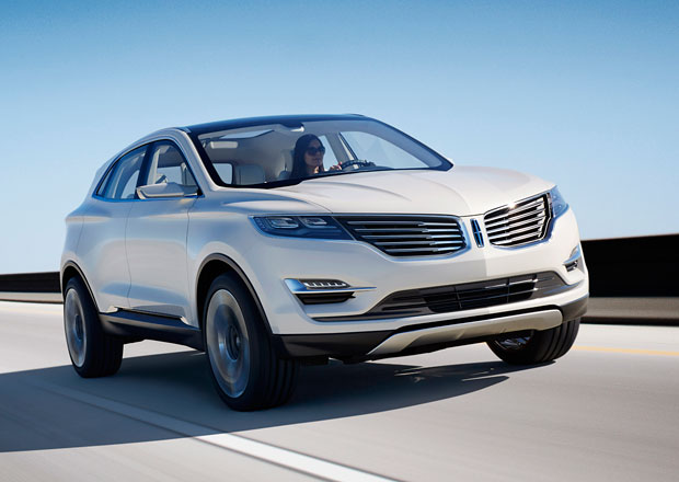 Lincoln MKC Concept je Kuga s luxusní tváří